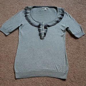 Banana Republic Grey Shirt